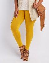 Charlotte Russe Plus Size Stretch Cotton Leggings