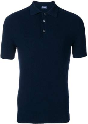Drumohr knit polo shirt