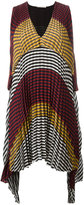 Marco De Vincenzo checked pleated dress - women - Silk/Polyester - 44