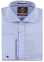 M&s Collection Luxury Pure Cotton Striped Shirt