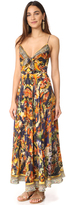 Camilla Phoenix Rise Long Dress With Front Tie
