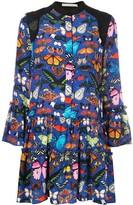 Mary Katrantzou Shalini butterfly print dress