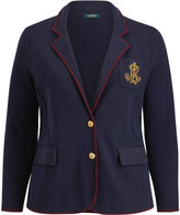 Ralph Lauren Bullion-Crest Sweater Blazer