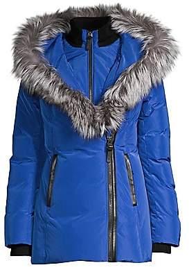 Mackage Women's Adali Fox Fur-Trim Puffer Coat