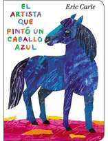 """Eric Carle """"The Artist Who Painted a Blue Horse"""" Spanish Edition"""