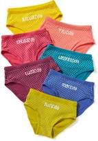Old Navy Day-of-the-Week Bikini-Underwear 7-Pack for Toddler Girls