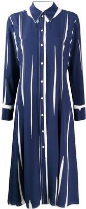 Paul Smith Crepe De Chine Shirt Dress