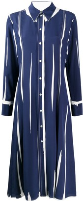 Paul Smith crepe de chine shirt dress