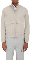 Brunello Cucinelli Men's Suede Zip-Front Jacket