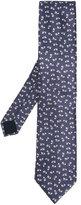 Lanvin fish pattern tie - men - Silk - One Size