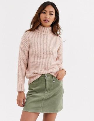 Pimkie speckled jumper in pink