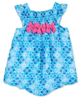 First Impressions Floral-Print Bubble Romper, Baby Girls (0-24 months)