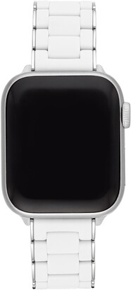 Michele Apple Watch(R) Wrapped Silicone Bracelet Strap