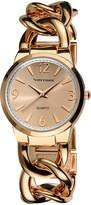 Vernier Rose Gold Link Bracelet Watch