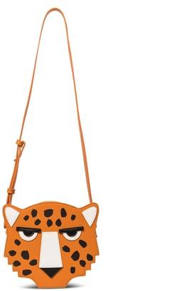 Stella McCartney Kids Cheetah faux-leather shoulder bag