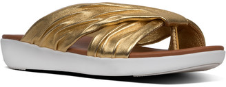 FitFlop Twine Leather Slide