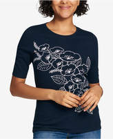 Tommy Hilfiger Floral-Print T-Shirt, Created for Macy's