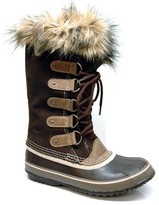 "Sorel Joan of Arctic"" Brown Snow Boots"