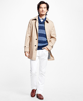 Brooks Brothers Bonded Single-Breasted Trench Coat
