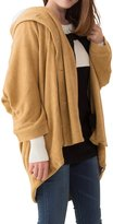Sweet Mommy Multifunctional Maternity and Babywearing Cardigan with Shawl Collar F