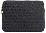 Marc Jacobs Logo Neoprene 13-Inch Computer Case - Black
