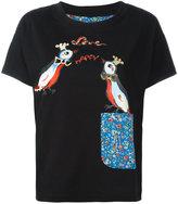 Tsumori Chisato Love Birds T-shirt - women - Cotton - 2