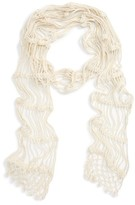 Sole Society Women's Crochet Scarf