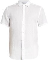 Orlebar Brown Meden lightweight-linen shirt