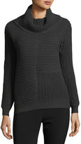 philosophy Cowl-Neck Ottoman-Knit Sweater