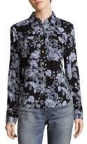 True Religion Floral Button-Down Shirt