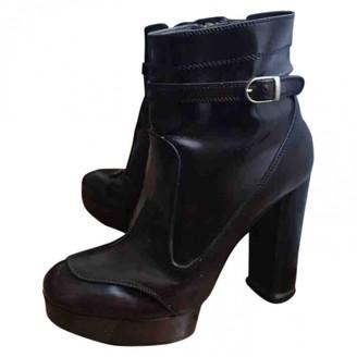 Stella McCartney Stella Mc Cartney Brown Patent leather Ankle boots