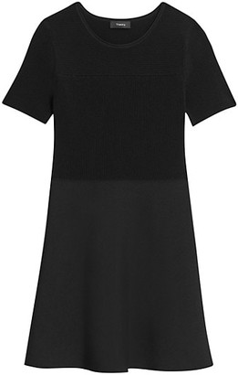 Theory Otto Fit-&-Flare Dress