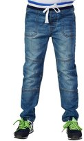 Leo&Lily Big Boys' Regular Fit Denim Husky Jeans 12