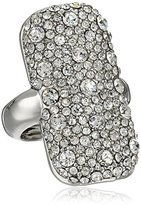 Vince Camuto Pave Rounded Rectangle Ring, Size 9