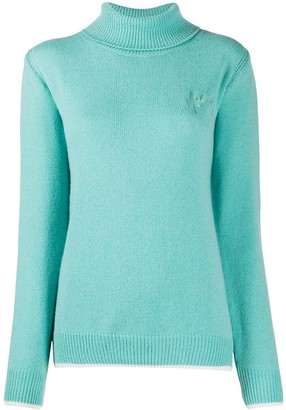 MSGM Ribbed Turtle Neck Jumper