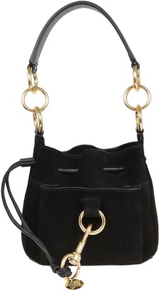 See by Chloe Suede Cowhide Leather, Small Grain Bag