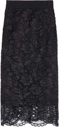 Iris & Ink Viva Scalloped Corded Lace Skirt
