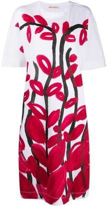 Marni brush stroke dress