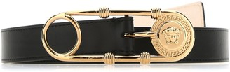 Versace Safety Pin Buckle Belt