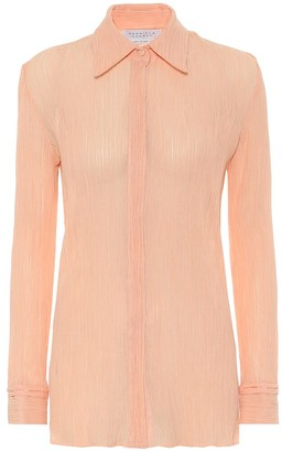 Gabriela Hearst Exclusive to Mytheresa Cruz cotton and silk blouse