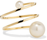 Sophie Bille Brahe Louise Grand 14-karat Gold Pearl Ring - 50