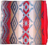One Kings Lane Vintage Beacon Blanket w/ Red Border