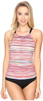 Jantzen Mayan Reef High Neck Over the Shoulder One-Piece