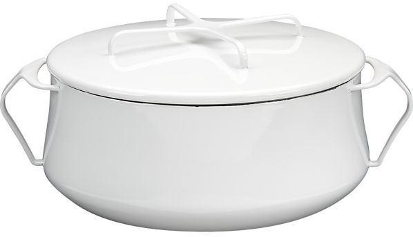 Dansk Kobenstyle White Casserole. 6 qt.