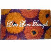 Asstd National Brand Live Love Laugh Rectangle Doormat - 18X30