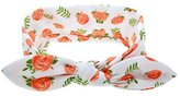 Headband,Laimeng, Baby Cute Rabbit Ears Elastic Cloth Bowknot Headband (Orange)