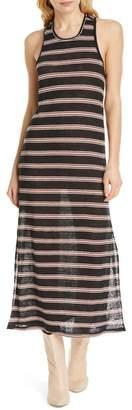 Joie Brellen Twist Back Linen Tank Dress