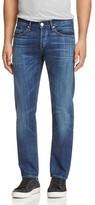 3x1 M3 Slim Straight Fit Jeans in Medium Blue