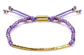 Gorjana Amethyst Tranquility Bracelet