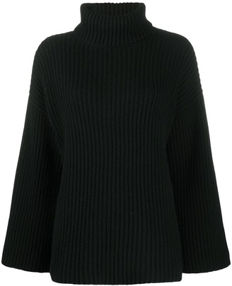 Allude Roll-Neck Cashmere Jumper
